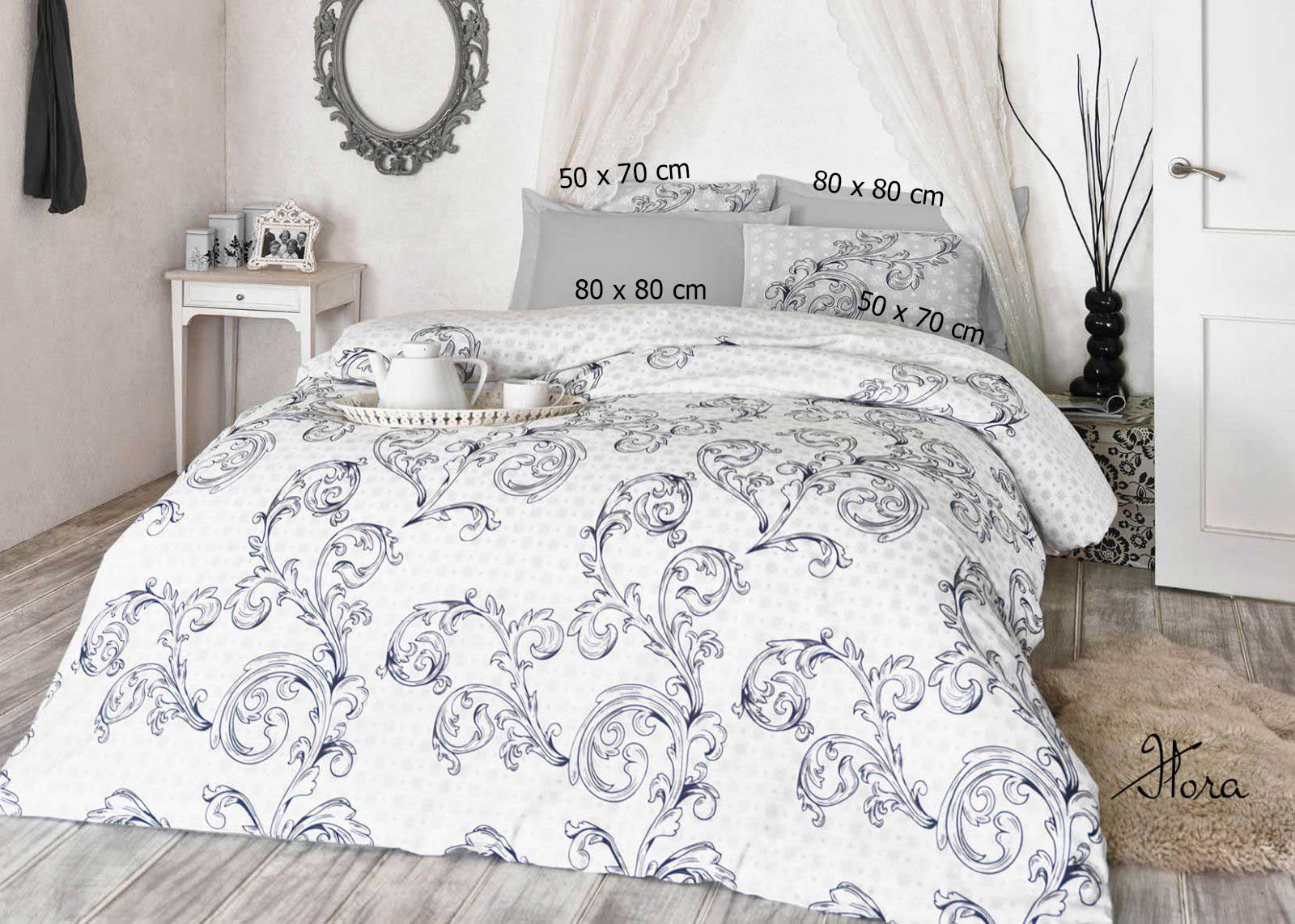 5 tlg bettw sche bettgarnitur 100 baumwolle kissen decke 200x200 cm flora sw ebay. Black Bedroom Furniture Sets. Home Design Ideas