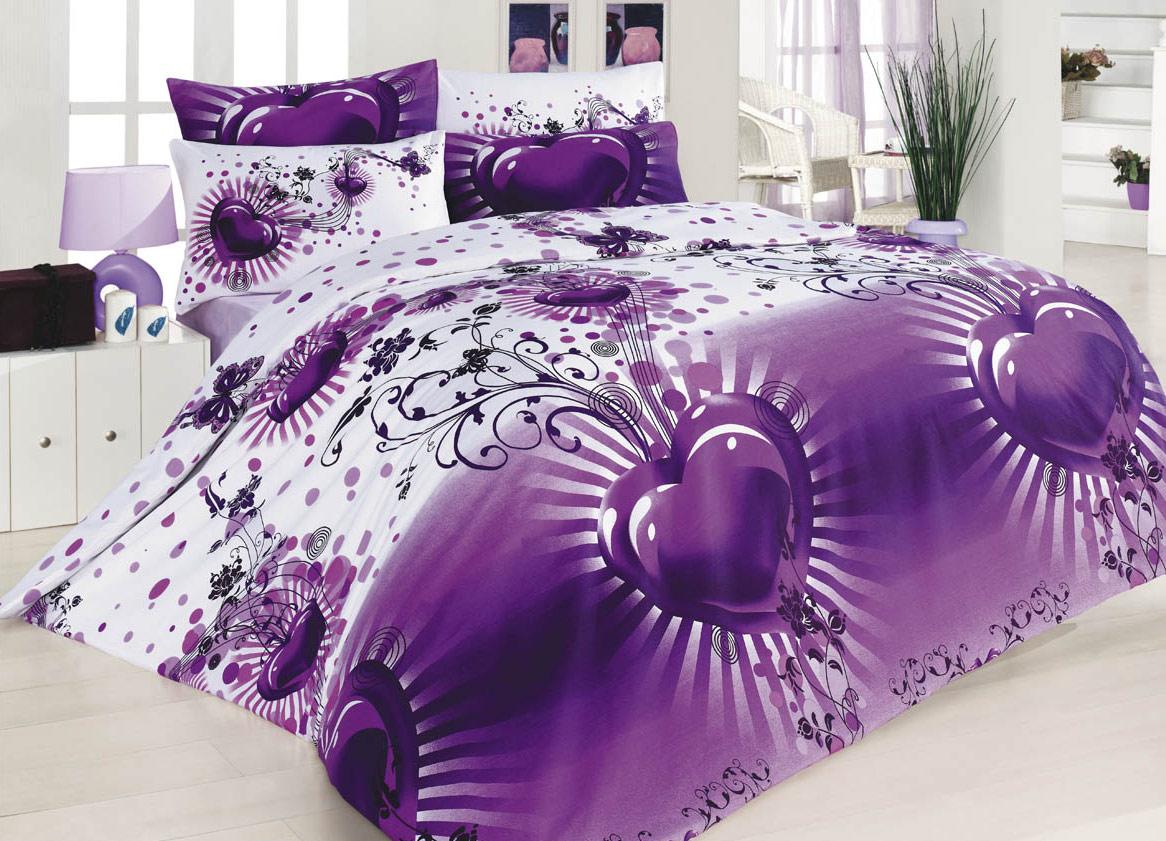 5 tlg bettw sche 200x200 cm baumwolle ask olsun lila neu. Black Bedroom Furniture Sets. Home Design Ideas