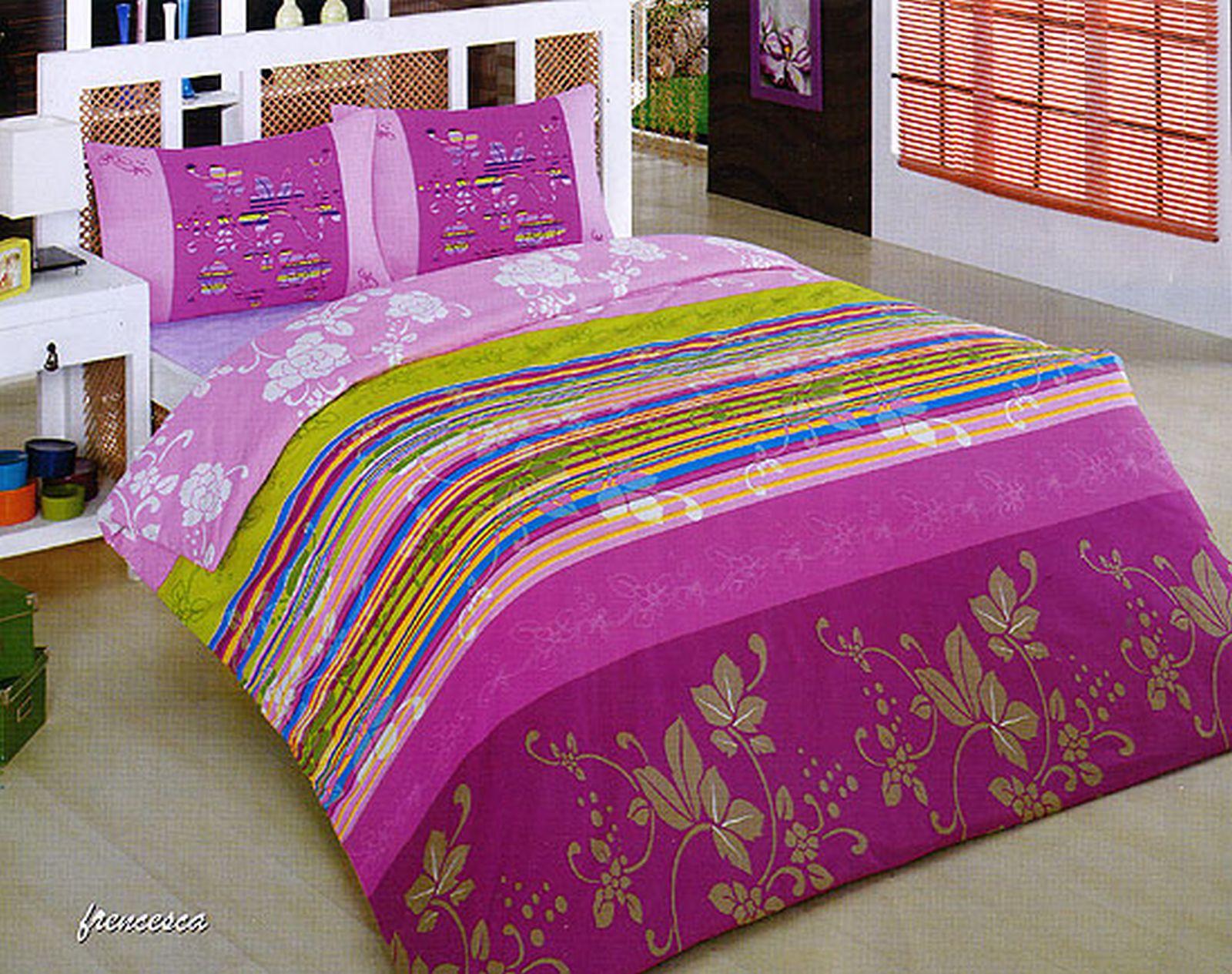 luxus 5 tlg bettw sche bettgarnitur baumwolle renforce 200x200 cm viele designs ebay. Black Bedroom Furniture Sets. Home Design Ideas