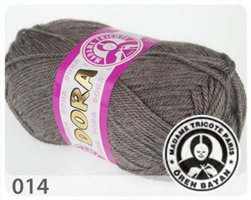 Wolle Garn 5x100 g DORA #014