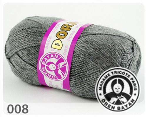Wolle Garn 5x100 g DORA #008