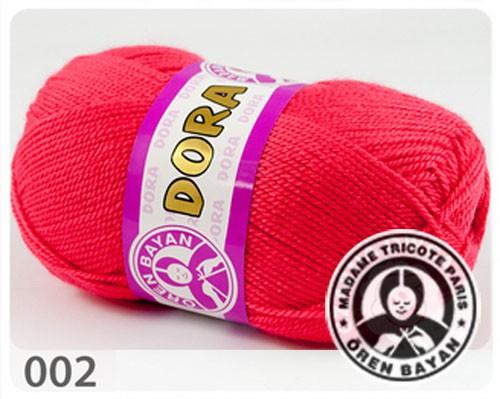 Wolle Garn 5x100 g DORA #002