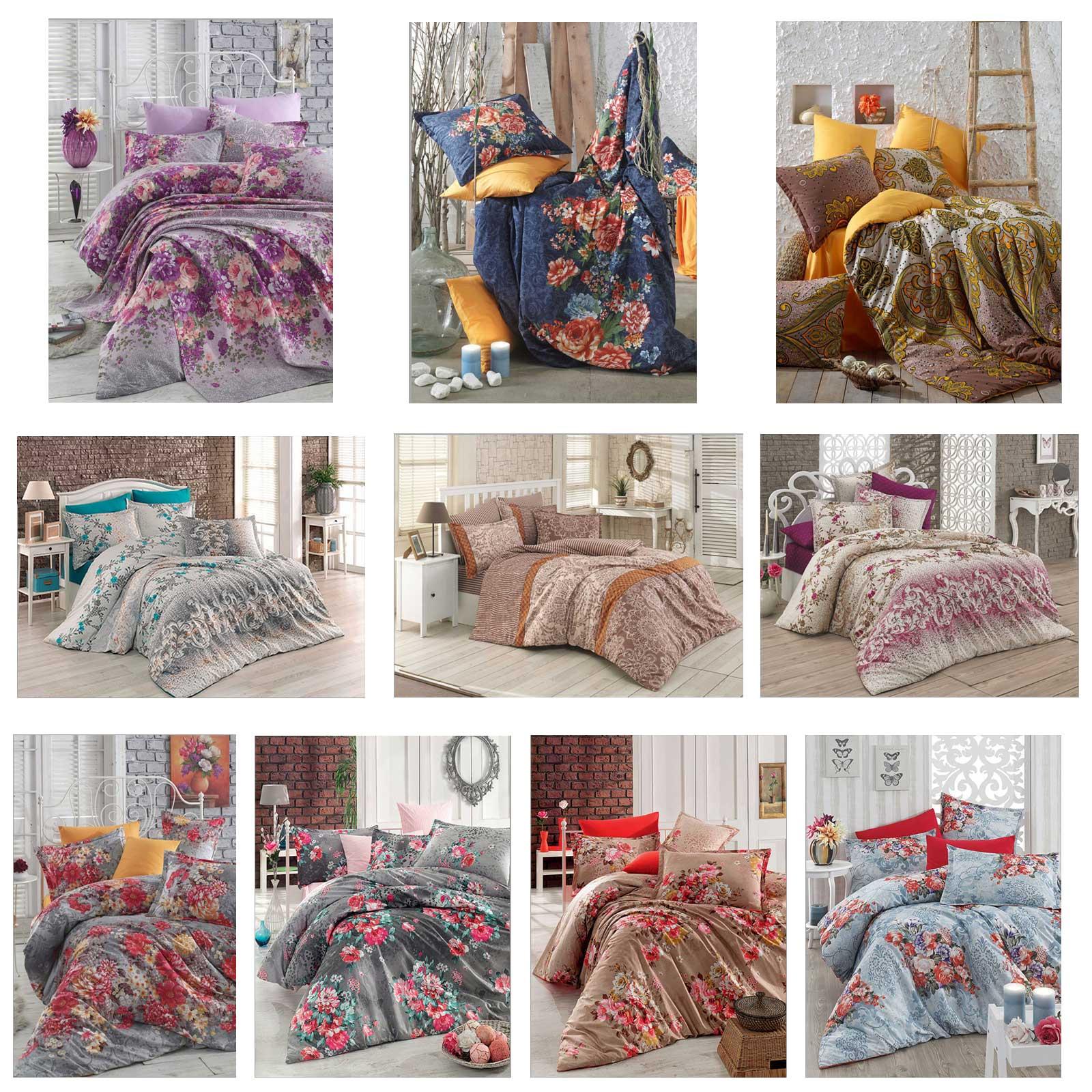 5 tlg bettw sche bettgarnitur 100 baumwolle kissen decke 200x200 cm variante 3 ebay. Black Bedroom Furniture Sets. Home Design Ideas