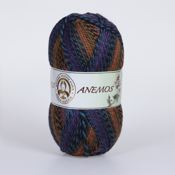 Wolle Garn 3x200 g ANEMOS #509