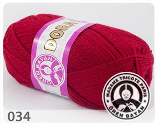 Wolle Garn 5x100 g DORA #034