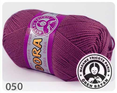 Wolle Garn 5x100 g DORA #050