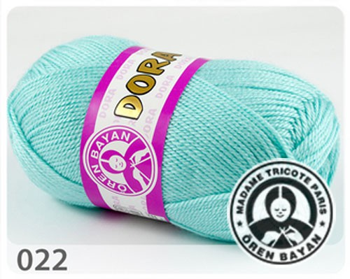 Wolle Garn 5x100 g DORA #022