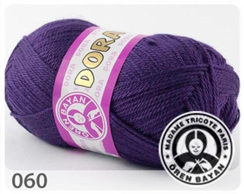 Wolle Garn 5x100 g DORA #060