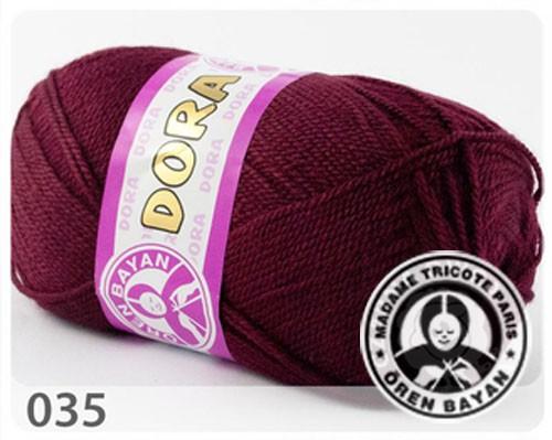 Wolle Garn 5x100 g DORA #035