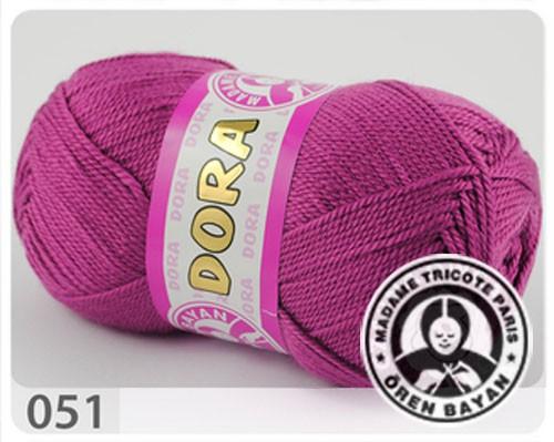 Wolle Garn 5x100 g DORA #051