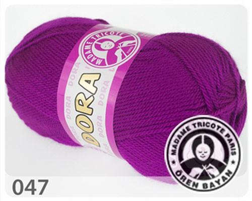 Wolle Garn 5x100 g DORA #047