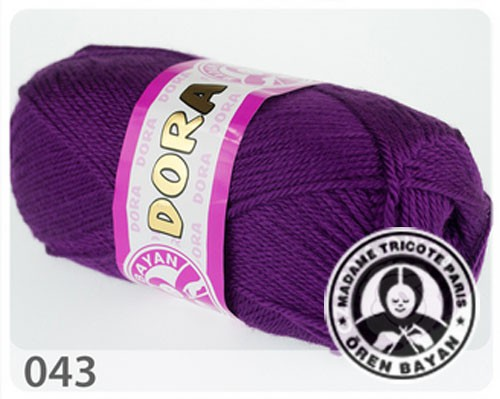 Wolle Garn 5x100 g DORA #043